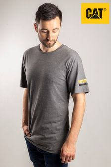 Cat® Grey Essentials Short Sleeve T-Shirt