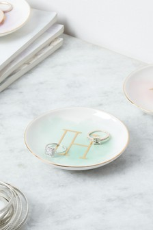 Set of 2 Alphabet Trinket Dishes