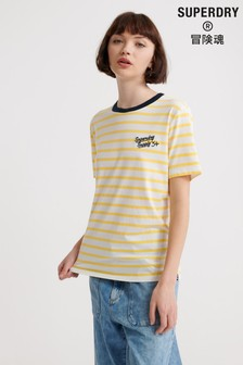 Superdry Dakota Stripe Graphic T-Shirt