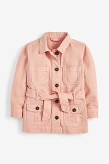 Long Belted Jacket (3-16yrs)