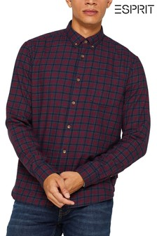 Esprit Red Checked Shirt