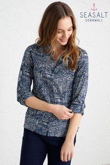 Seasalt Blue Larissa Shirt