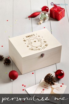 Personalised Penguin Christmas Eve Box by Loveabode