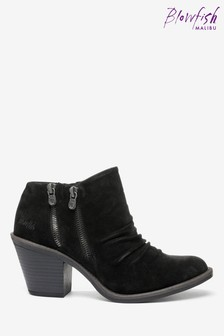Blowfish Black Lole Low Ankle Boots