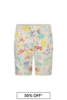 Boys Multi Cotton Shorts