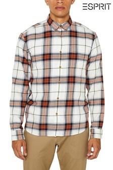 Esprit - Wit geruit overhemd
