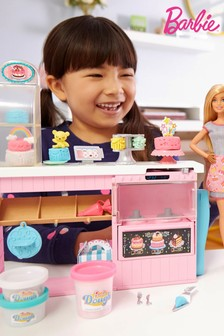 Barbie Cake Decorating Bakery Playset with Baker Doll