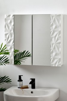 Mode Double Mirrored Wall Cabinet