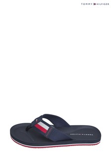 Tommy Hilfiger Blue Sporty Corporate Sandals