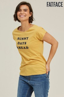 FatFace Natural Ivy Sunny Days Ahead T-Shirt