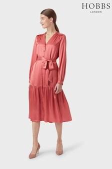 Hobbs Pink Esther Dress