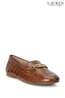 Lauren Ralph Lauren® Croc Embossed Logo Averi Loafers