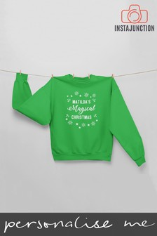 Personalised Magical Christmas Jumper by Instajunction