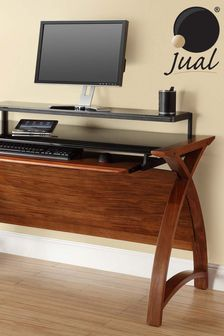 Helsinki 1300 Walnut Desk by Jual