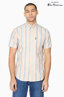 Ben Sherman Anise Block Striped Shirt
