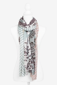 Spliced Pattern Scarf