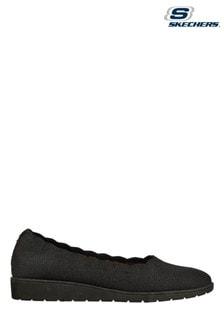Skechers Black D'Lux Walker Pillow Heaven Shoes