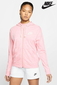 Nike Gym Vintage Coral Zip Through Hoody