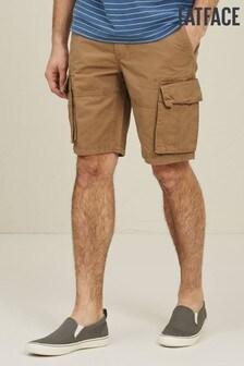 FatFace Sandstone Bude Lightweight Cargo Shorts