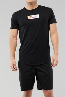 Hollister Black Ombre T-Shirt