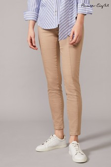 Phase Eight Neutral Amina Seamed Jeggings