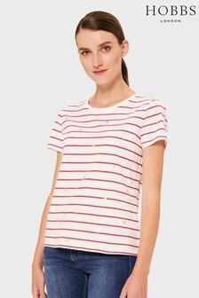 Hobbs Pink Printed Pixie T-Shirt