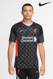 Nike Black Liverpool FC Third 20/21 Football Shirt