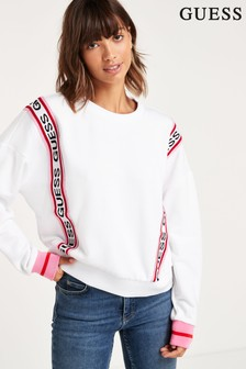Guess White Clemence Sweater