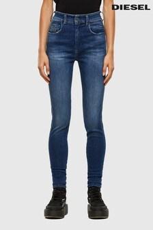 Diesel® Slandy High Waisted Skinny Jeans