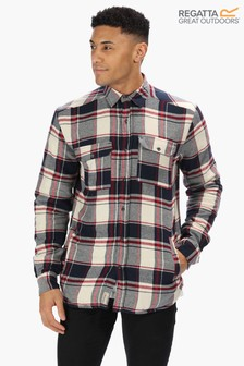 Regatta Red Tygo Long Sleeve Shirt