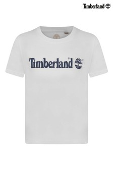 Timberland® White Logo T-Shirt