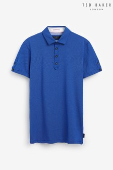 Ted Baker Qujump Mini Geo T Printed Polo