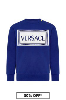 Versace Baby Cotton Sweatshirt