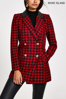 River Island Red Multi Alexa Jacket