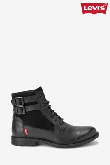 Levi's® Black Lace-Up Boots
