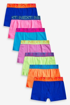 7 Pack Trunks (2-16yrs)