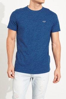 Hollister Blue Space Dye T-Shirt