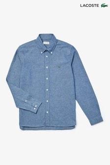 Lacoste® Long Sleeve Chambray Shirt