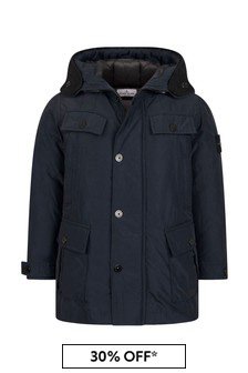 Boys Navy Jacket
