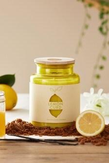 Lemon Curd Jar Candle