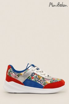 Mini Boden Multi Colourblock Trainers