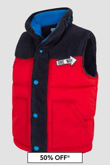 Marc Jacobs Boys Red Gilet