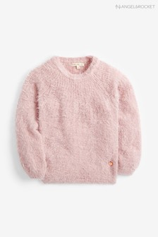 Angel & Rocket Pink Eyelash Jumper