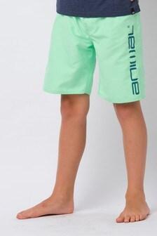 Animal Green Tannar Elasticated Board Shorts