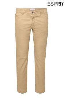Esprit Cream Chino Slim Fit Pants