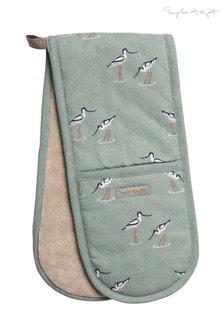 Sophie Allport Coastal Birds Double Oven Glove