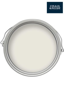 Chalky Emulsion Iona White 2.5L Paint by Craig & Rose