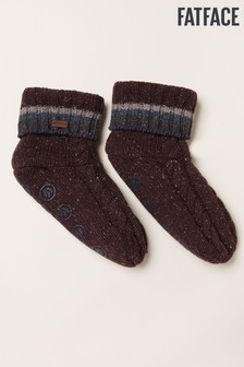 FatFace Red Bed Socks