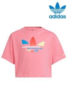 adidas Originals Adicolour Cropped T-Shirt