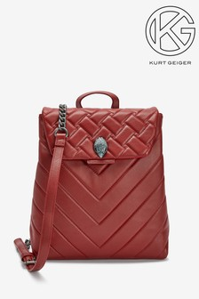 Kurt Geiger London Kensington Red Backpack